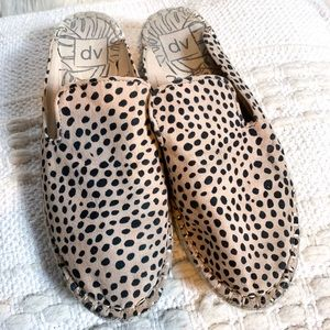 Dolce Vita Target Cheetah Slide On Flat Espadrille